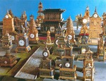 Collection of European clocks at Forbidden City (Imperial Palace Museum) in Beijing