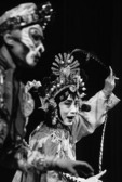 Beijing Opera performers at Liyuan Theater