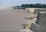 Yellow River dikes near Kaifeng in Henan province