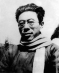 Wen Yiduo, early 20th century Chinese revolutionary poet, in 1940s