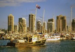 Marina on Queensland's Gold Coast