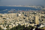 Port city of Haifa