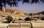 Beit She'an archaeological site, Biblical city in Jordan Valley
