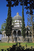 Upper Galilee Church of the Beatitudes, site of Sermon on the Mount