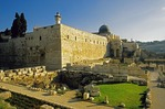 Ruins of King Solomon's Temple in Jerusalem
