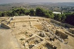 Tel of Megiddo, archaeological site of ancient city in Jezreel Valley