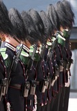 Changing of His Majesty the King's Royal Guard at the Royal Palace in Oslo