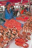 Bergen Fish Market seafood seller