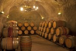 Wine Cave at Gibbston Valley Winery near Queenstown, New Zealand.