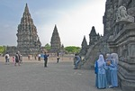 Prambanan Hindu Temple complex near Yogyakarta, Indonesia