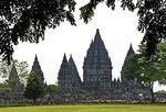Prambanan Hindu Temple complex near Yogyakarta
