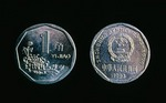 One jiao coin of Peoples Republic of China