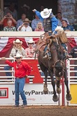 Calgary Stampede 2012, 100th Anniversary, annual saddle bronc competition