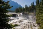 Athabasca Falls in Jasper National Park, Alberta.