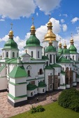 St. Sophia Cathedral in Kiev, Ukraine.