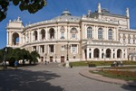 Odessa National Academic Theater of Opera and Ballet in neo-baroque style