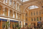 Odessa Passage shopping arcade in Baroque style.