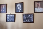 1945 Yalta Conference participant photos at White Palace in Livadia