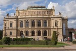 Prague National Theater (Narodni Divadlo) in classic neo-Renaissance style