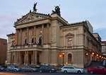 Prague's Statni Opera, the State Opera House
