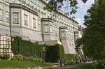 Rampart Garden along the back of the Prague Castle