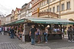 Havelske Trziste (Havel's Market) in Prague city centre