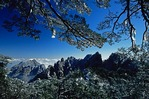 Winter at Huangshan National Park (Yellow Mountain), Anhui Province, China.
