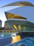 Palau de les Arts Reina Sofia in the City of the Arts and Sciences, Valencia, Spain