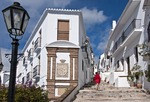 Frigiliana, Andalucian white village on Costa del Sol, Spain.