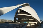 Palau de les Arts in the City of the Arts and the Sciences in Valencia.