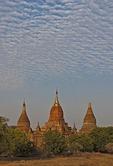 Old Bagan pagodas in Myanmar.
