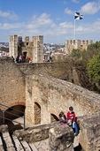 St. George's Castle (Castelo de Sao Jorge) in Lisbon.