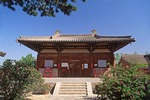 Nanchan temple, Mount Wutai,  China, built in Yuan dynasty.