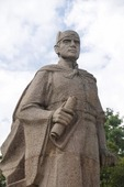 Statue of Admiral Zheng He in Zheng He Memorial Park in Kunming, Yunnan.