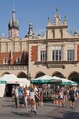 Krakow's Main Market Square (Rynek Glowny).