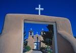 San Francisco de Asis church in Taos, New Mexico.