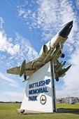 Battleship Memorial Park at Mobile on Alabama Gulf Coast.