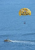 Parasailing off Orange Beach on Alabama Gulf Coast