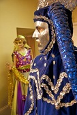 Mardi Gras costumes on display at Mobile Carnival Museum.