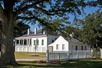 Beauvoir, The Jefferson Davis Home along Mississippi Sound at Biloxi on Gulf Coast.