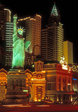 New York, New York Hotel in Las Vegas.