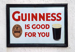 Guinness sign in Ireland.