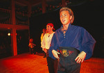 Michael Flatley performing with Riverdance at Trinity College in Dublin in 1994.