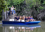 Airboat in Florida Everglades
