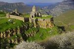 19th-century Tatev Monastery in spring, Syunik Province, southeastern Armenia.