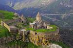 9th-century Tatev Monastery in Syunik Province, southeastern Armenia.