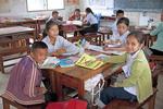 School classroom in Luang Prabang, Laos.