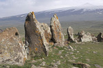Armenian Stonehenge, Carahunge stone circle, is 7500 year old megalithic site for astronomical observation.
