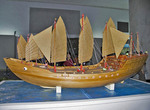 Model of ship of Admiral Zheng He