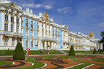 Catherine's Palace at Pushkin in St. Petersburg, Russia.